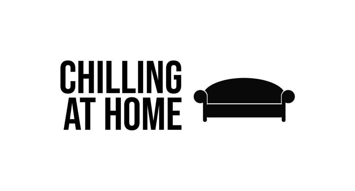 Chilling at home graphic