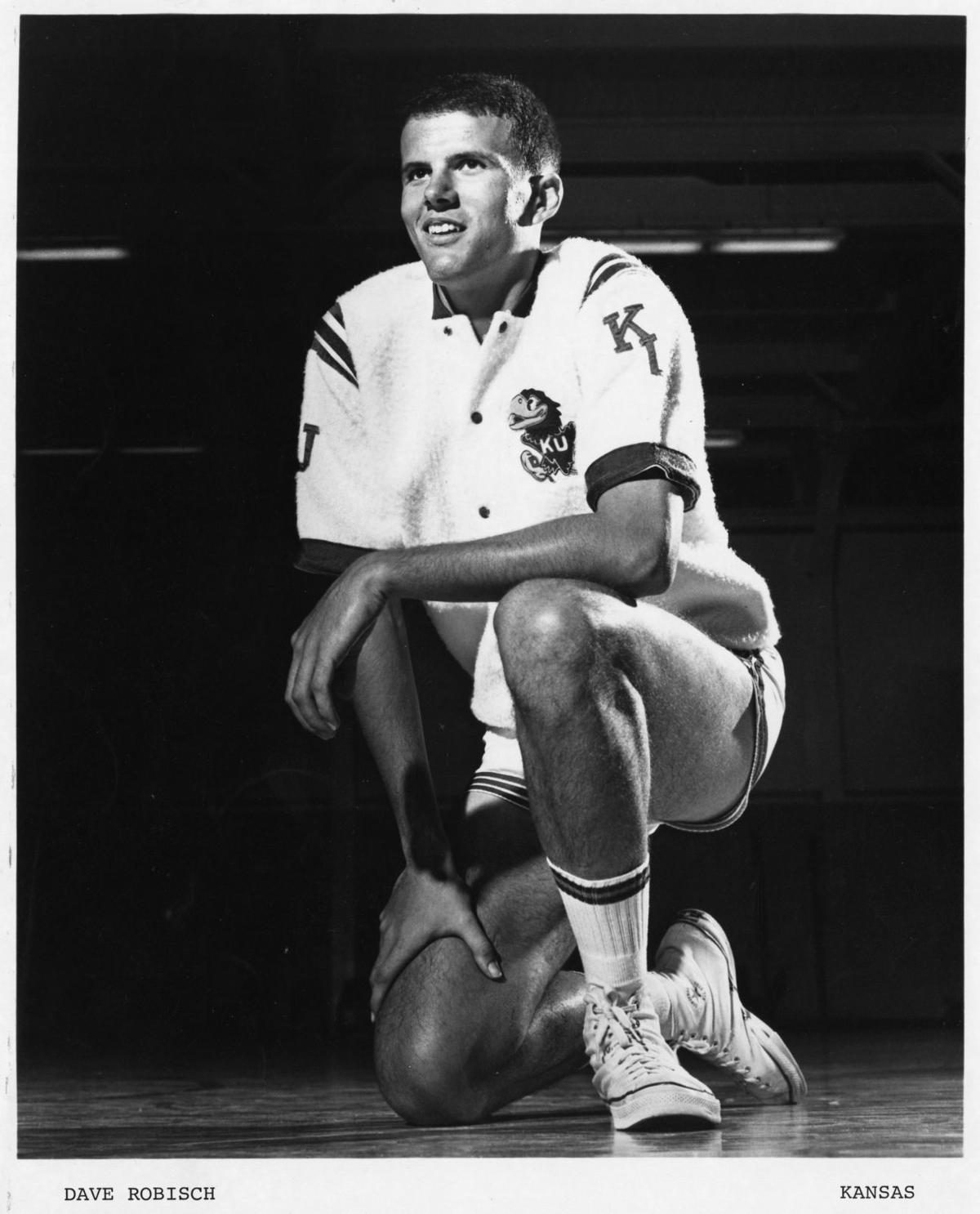 As a fantastic shooter Dave Robisch was a superstar at Kansas