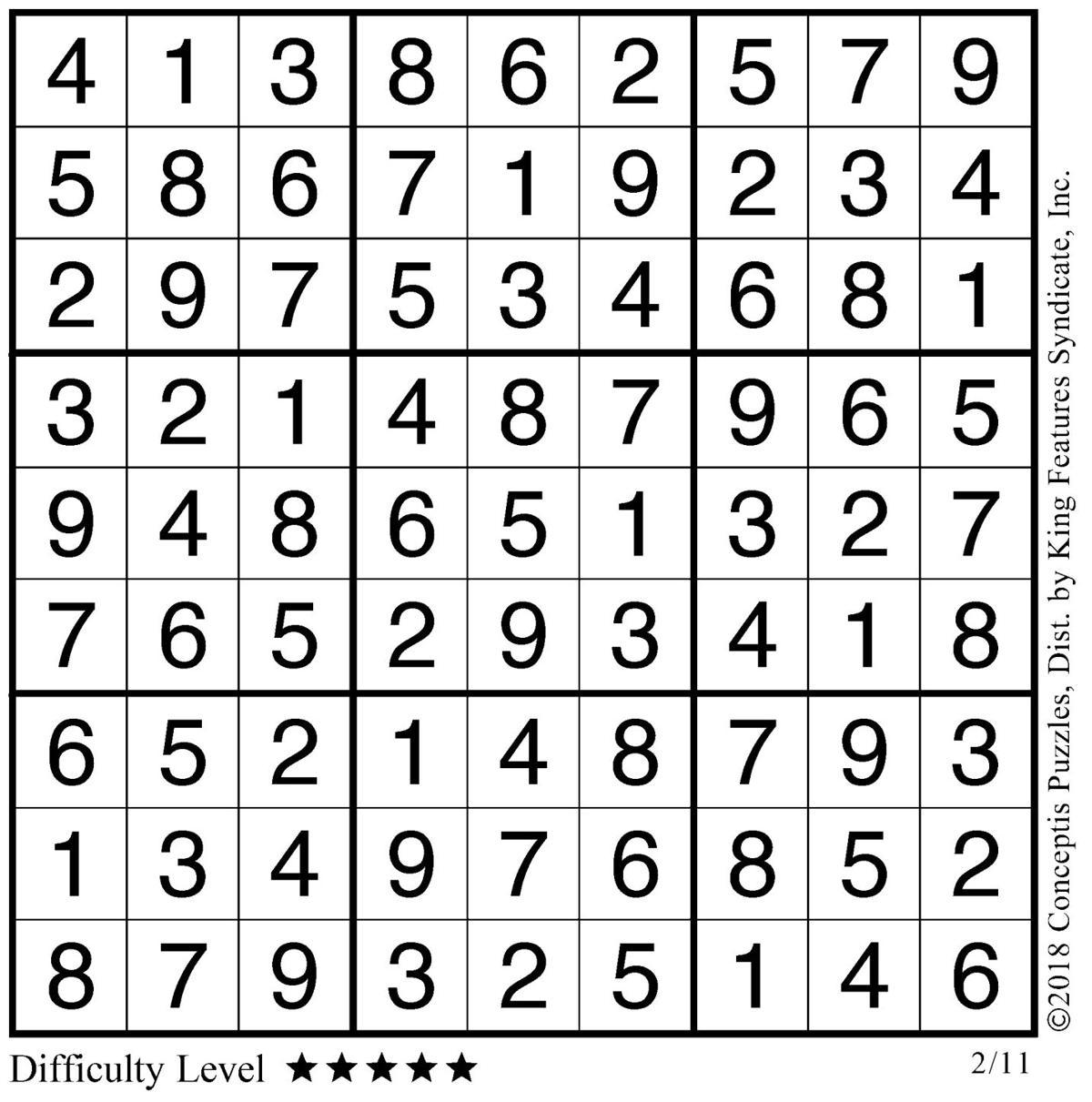 February 12 Sudoku 1