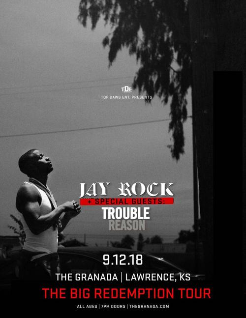 Jay Rock brings entertainment and inspiration to Granada crowd