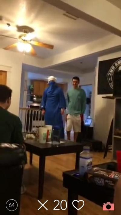 Students react to anti-Muslim social media video