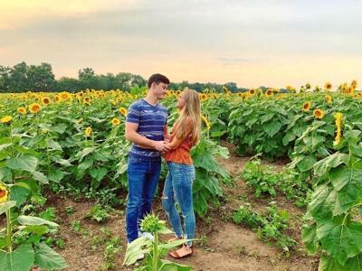 How we met: Couple Lauren and Parker