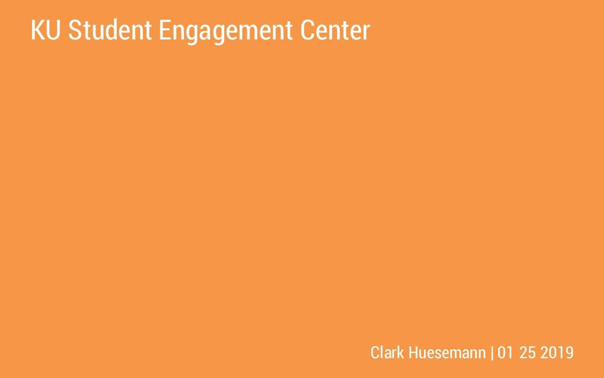 Student Engagement Center layout proposal