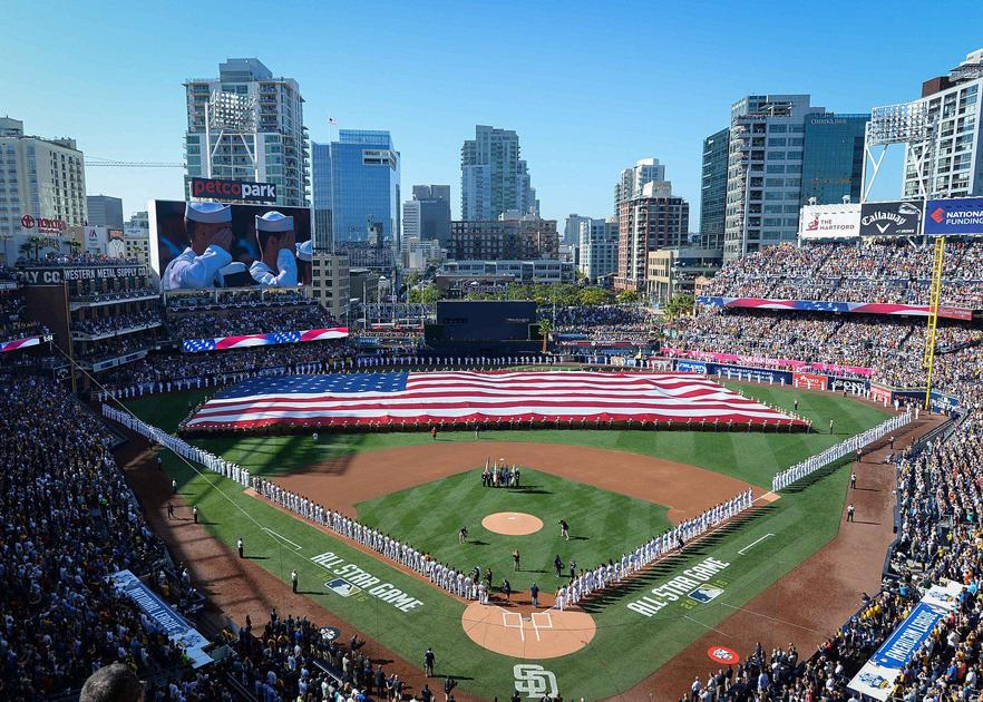 super popular 98ff0 38010 Three reasons to watch the 2019 MLB All-Star game   Sports   kansan.com