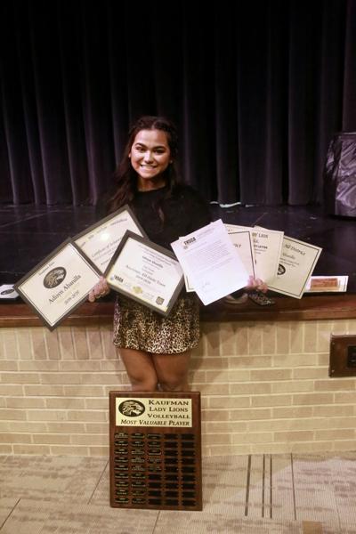 Abanilla wins volleyball team awards