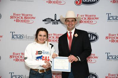 Heartland youth scrambles to win  at Fort Worth Stock Show