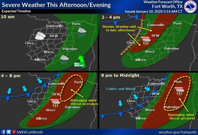 Weather service issues Tornado Watch for Friday afternoon, evening