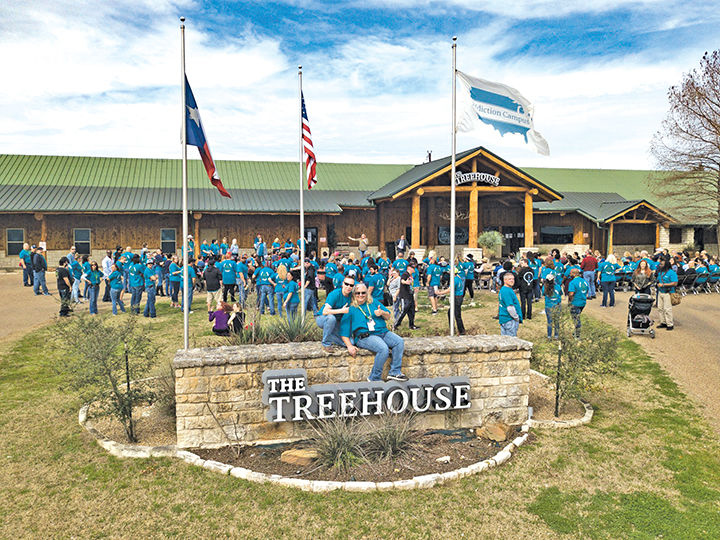 Treehouse in Scurry celebrates four years of stories