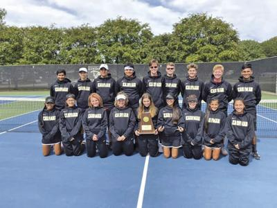Kaufman tennis team wins area championship