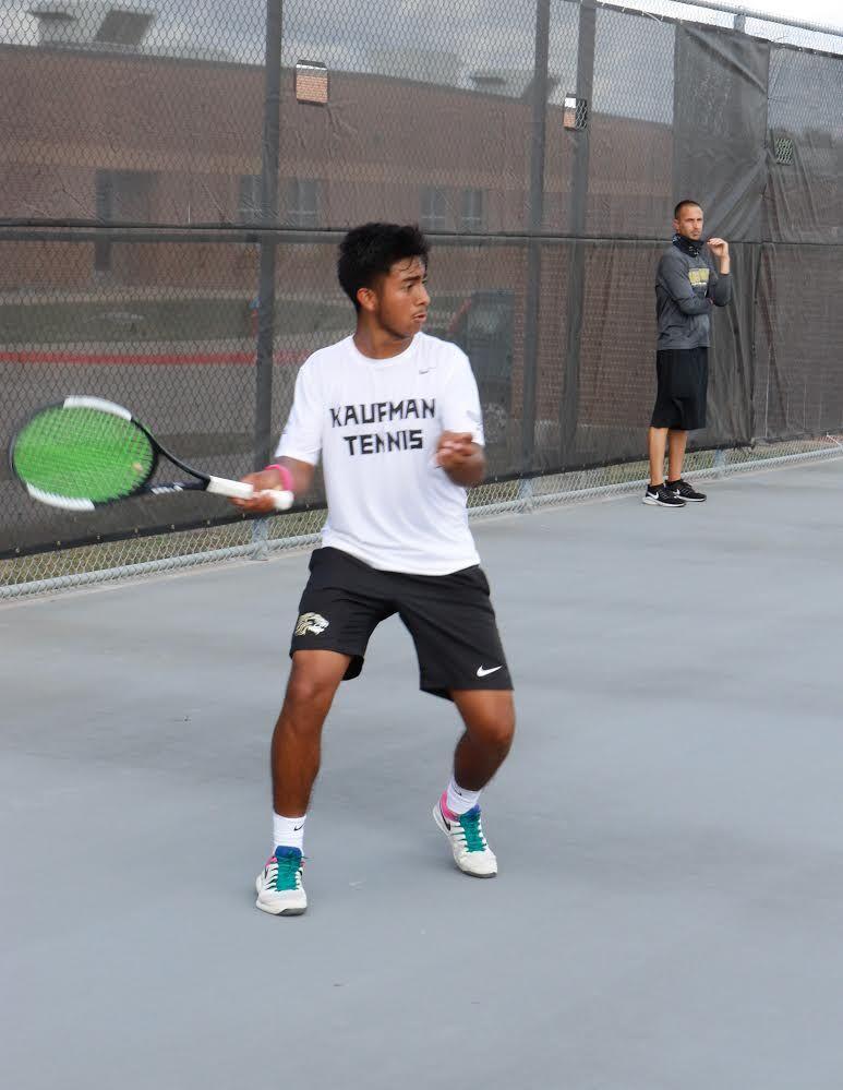 Gutierrez KHS tennis