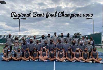 KHS tennis regional semi final champs