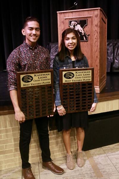 Rivera, Galan win cross-country awards