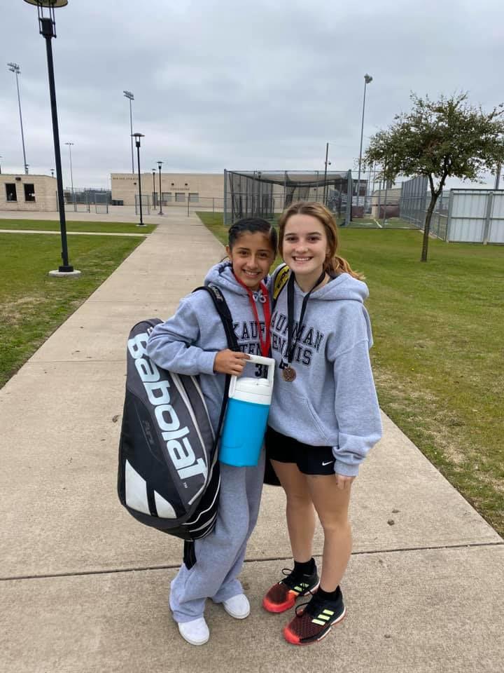 Kaufman tennis placing in winter tourneys