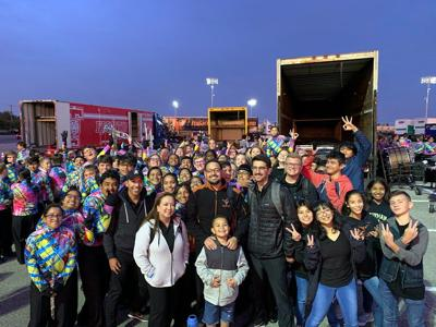 Kaufman High School band advances to area UIL marching competition