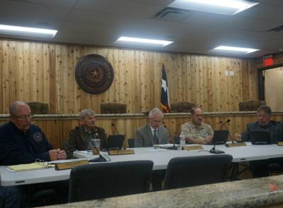 Commissioners consider replacement for Precinct 4 Constable Chad Jones