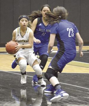 After narrow overtime loss, Kaufman girls gain payback