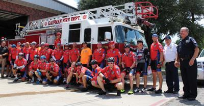 Texas Brotherhood riders make Kaufman appearance