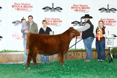 Crandall girl captures win at Fort Worth Stock Show