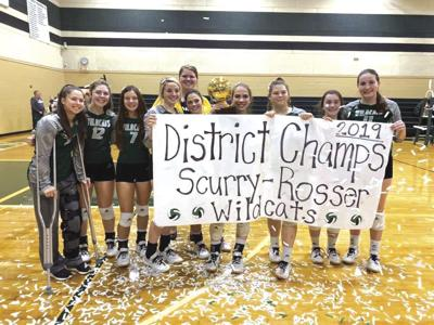 Scurry-Rosser volleyball wins All-District honors