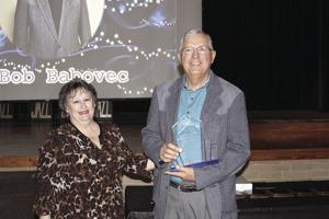 <p><span>Bob Babovec was presented the Kaufman Chamber of Commerce Lifetime Achievement Award at Tuesday's annual banquet.</span></p><p><span> </span></p>