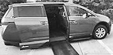 2015 Honda Odyssey Handicap equipped lowered floor power ramp &