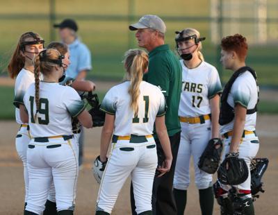 Kearney Catholic coach Russ Hiemstra