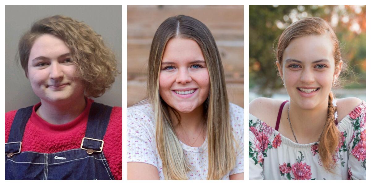 Briannah Stromer, Cydnee Coutts, Hanna Wood