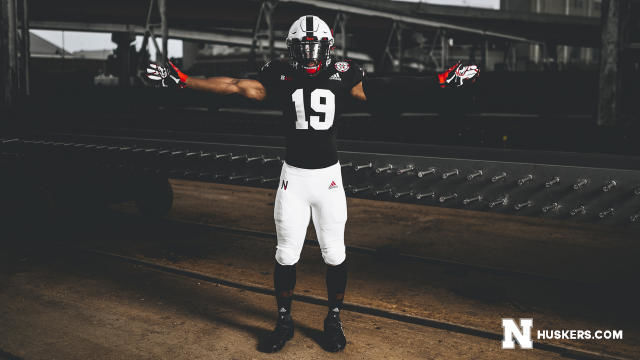 detailed look 302d6 3a1d5 It's pretty cool': Husker football unveils new black ...