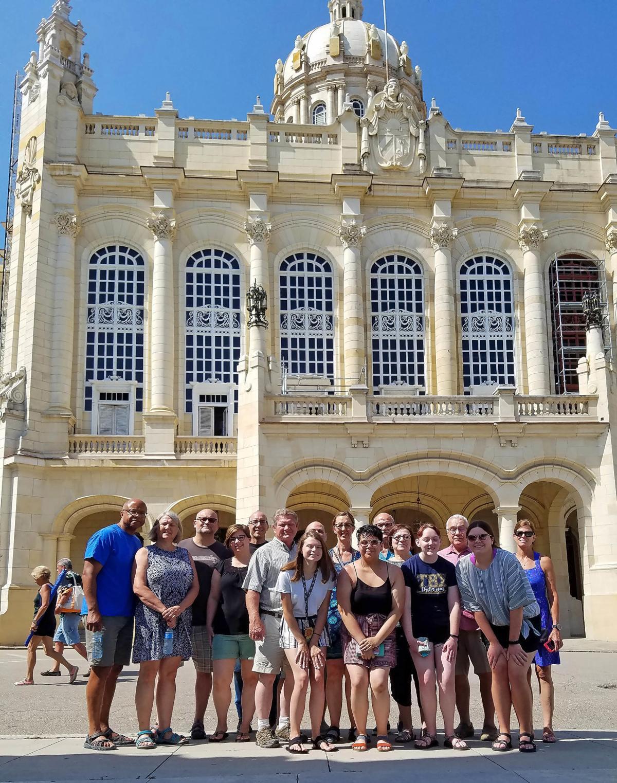 UNK students in Cuba
