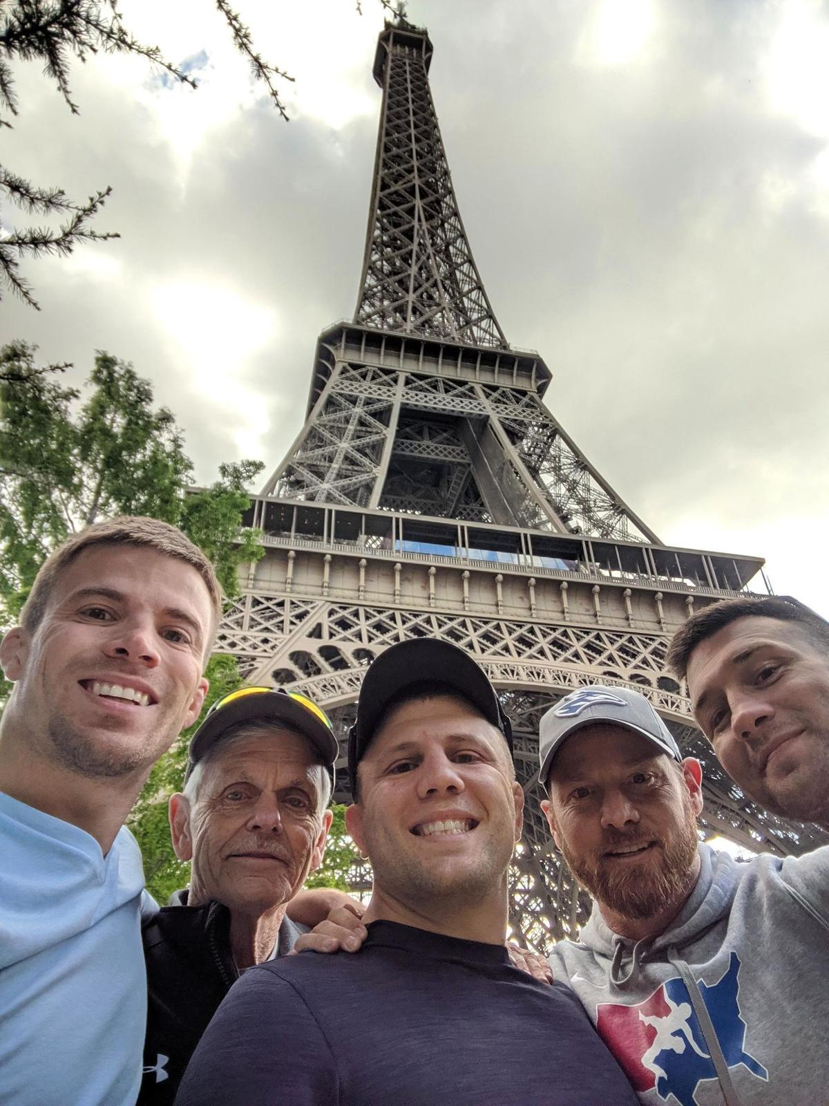 UNK wrestlers in France