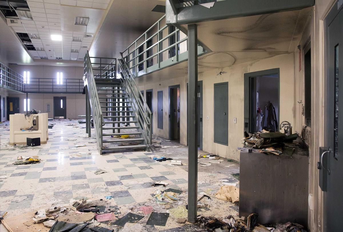 Tecumseh State Prison after riot
