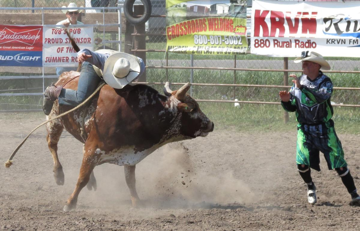 Bull rider Stover travels thousands of miles to do what he