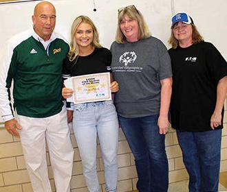 This month's Star Student of the Month: Olivia Micek