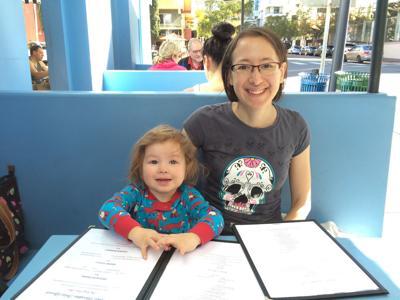 Xenia Trejo and daughter, Ella