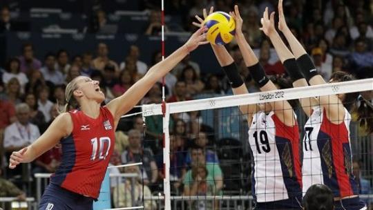 U.S. women reach Olympic volleyball gold-medal match