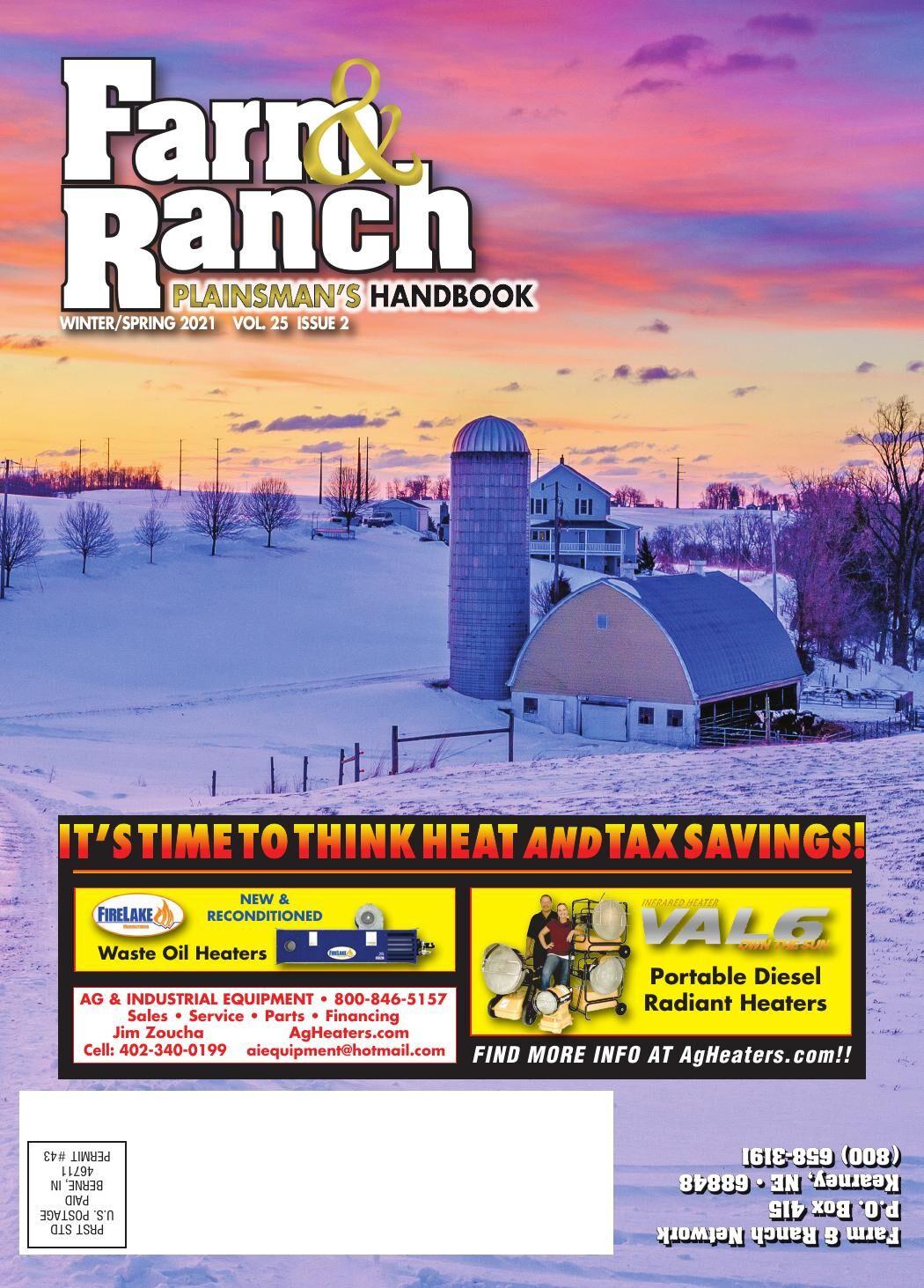 Plainsman's Handbook Winter/Spring 2021