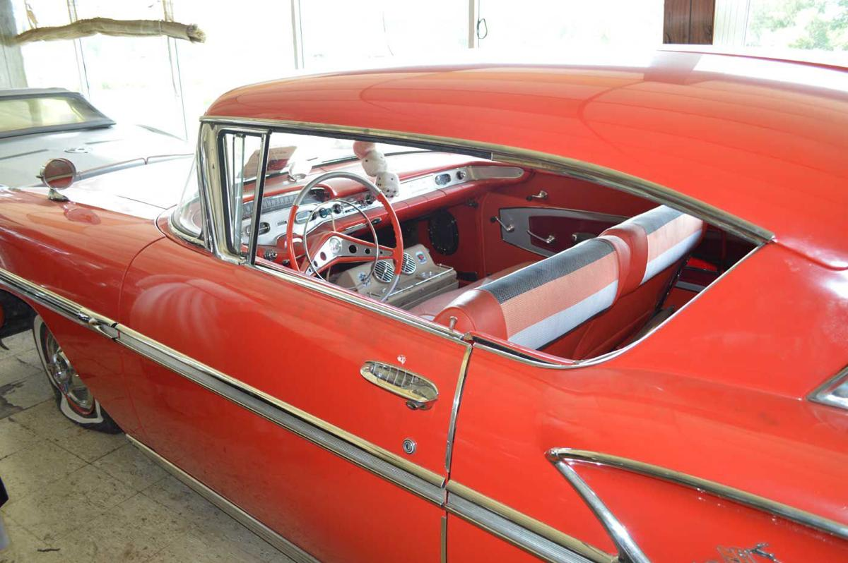 Cruise Back In Time Chevyland Usa Owner Has A Story For Each Relic 1957 Chevy Convertible Impala
