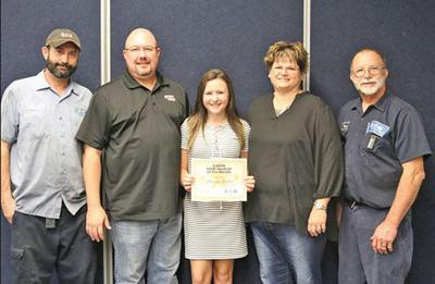 This month's Star Student of the Month: Mercedes Phillips