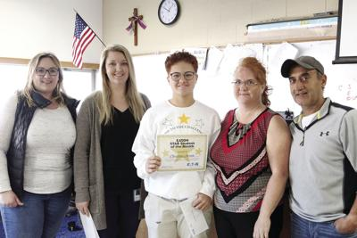 This month's Star Student of the Month: Christina Arram