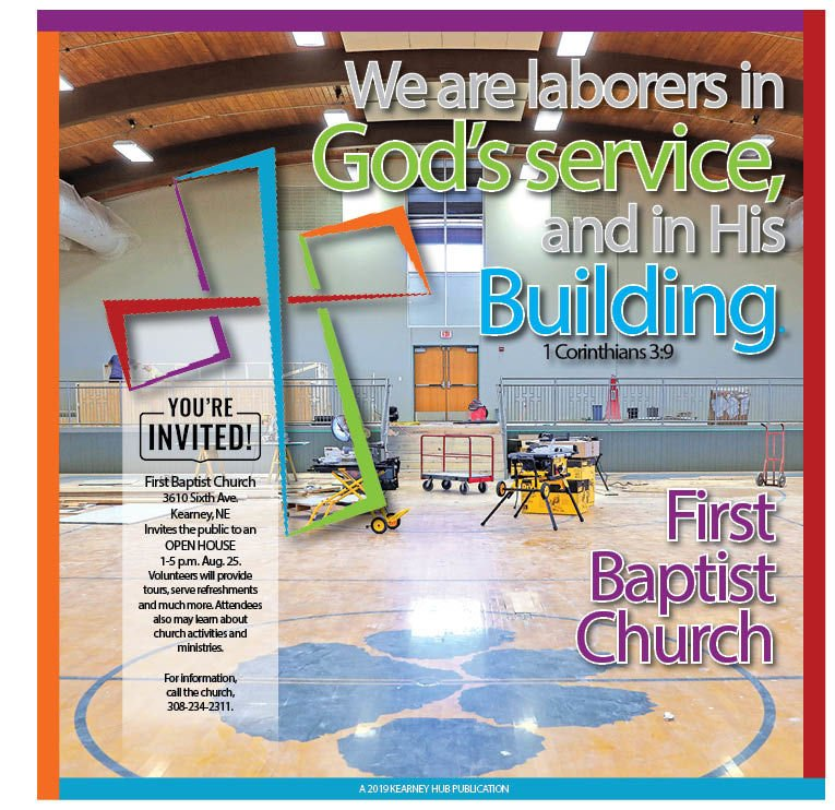This story originally published in a Hub special section about First Baptist Church.