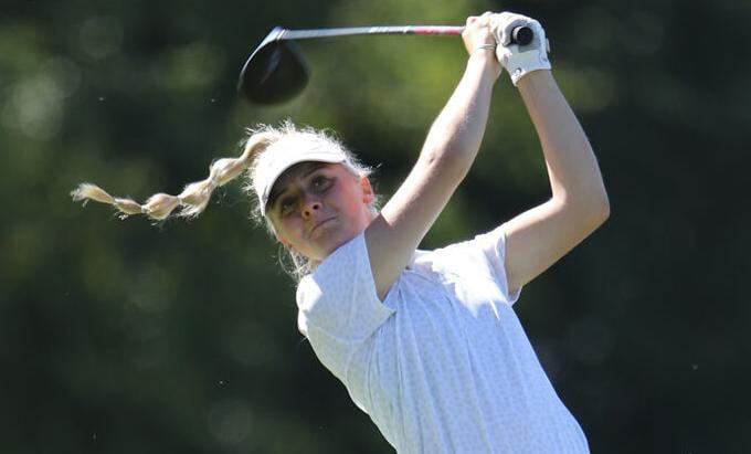 Kearney High golf - Alexa Mahalek