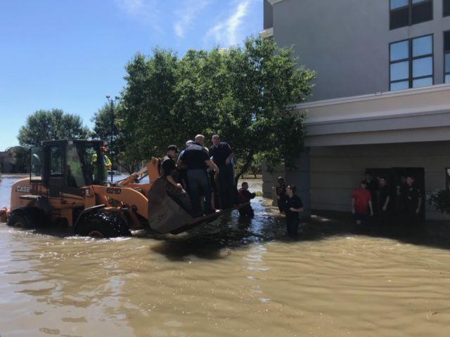 Hotel rescue