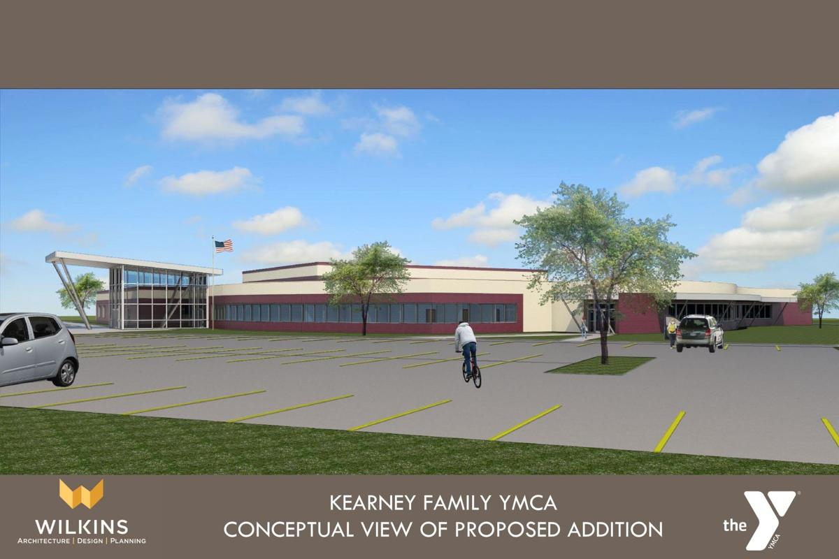 Kearney Family YMCA proposed addition view