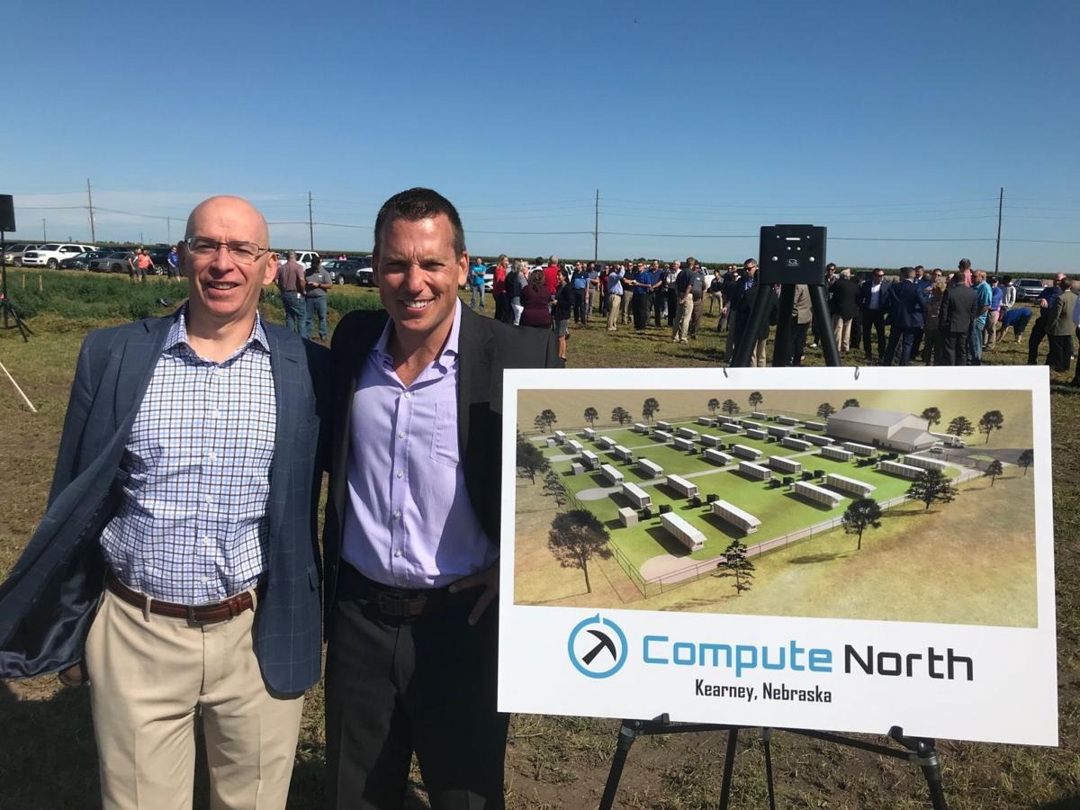 Marshall Johnson, president of Compute North and CEO Dave Perrill