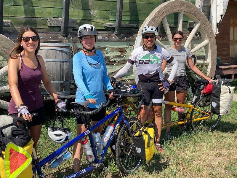 BIcycling family