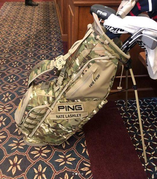 Winning golf bag