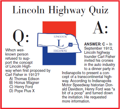 Lincoln Highway Q & A