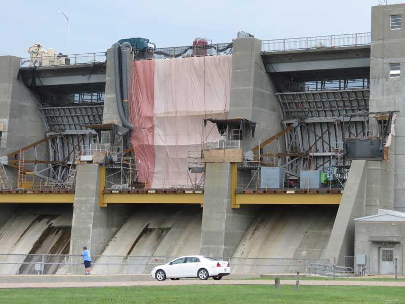Water Tour Series: Harlan County Dam under repair | Local ...