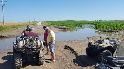 Farm flooded