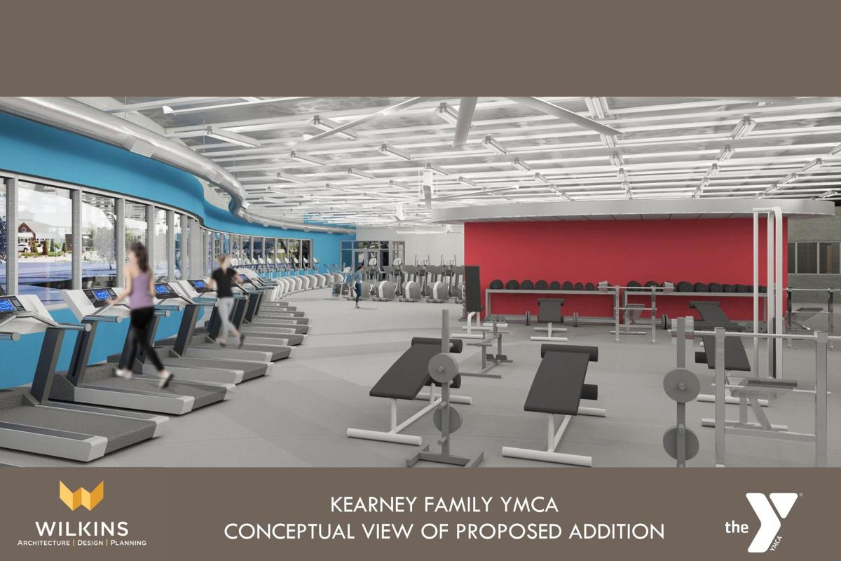 The Wellness Center at YMCA rendering